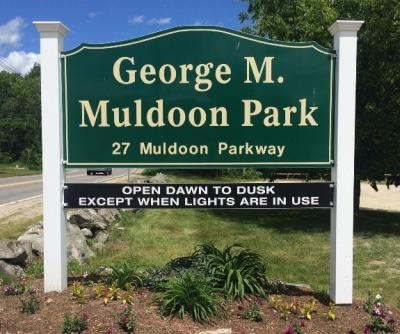 Muldoon Park Sign