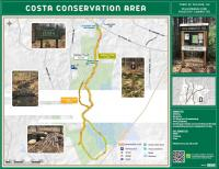 Map of Costa Conservation Area