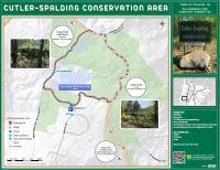 Map pof Cutler-Spalding Conservation Area