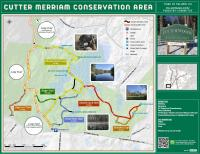 Map of Cutter Merriam Conservation Area