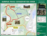 Map of Gumpus Pond Conservation Area