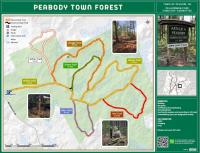 Map of Peabody Town Forest