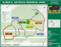 Elmer G. Raymond Park Trail Map