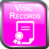 Vital Records Button